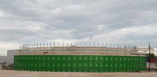 vasche biogas Lavori Industriali S.r.l.