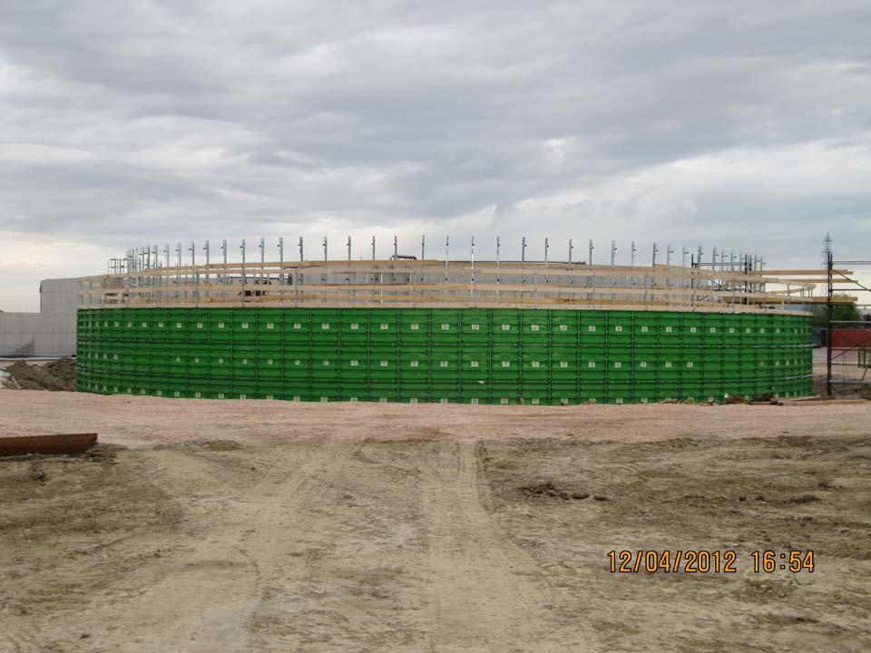 Vasche Biogas per edilizia e agricoltura