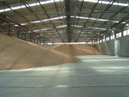 capannoni per stoccaggio cereali